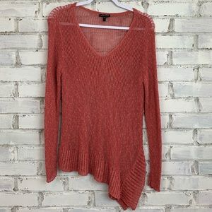 Eileen Fisher | V-Neck Loose Knit Sweater | Size L